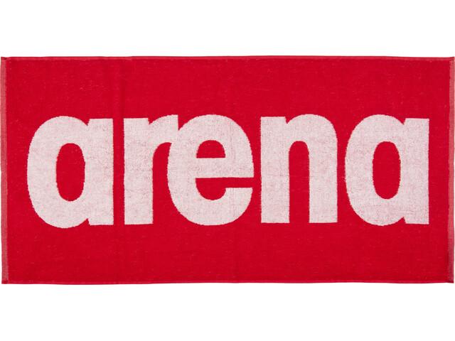 arena Gym Soft Håndklæde rød/hvid